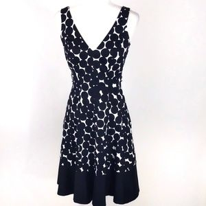 Nine West Cotton Fit and Flare Career Dress 2